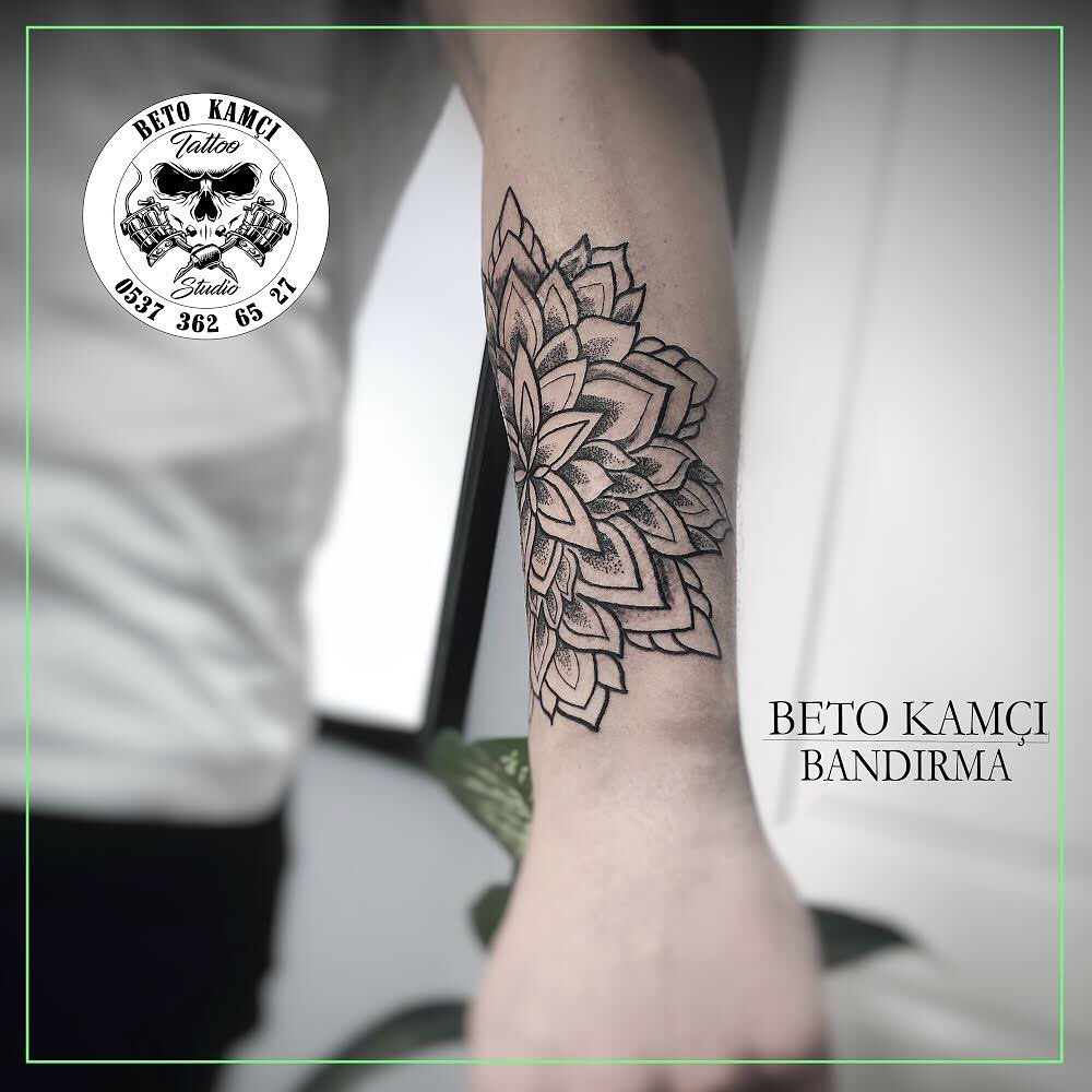 Mandala Dövmesi - Mandala Tattoo