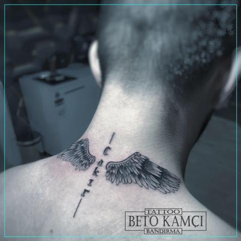 Kanat Dövmesi - Wing Tattoo