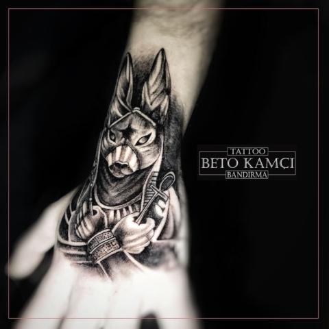 Anubis Dövmesi - Anubis Tattoo