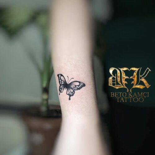 Kelebek Dövmesi - Butterfly Tattoo